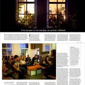 Artikel over het fenomeen huiskamerconcert voor Friesland Post
