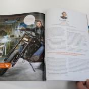 Interview met beelden in Haan Reclamewerk magazine