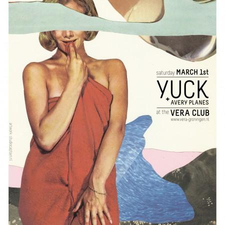 Poster van Yuck - gemaakt door Stefan Sloot