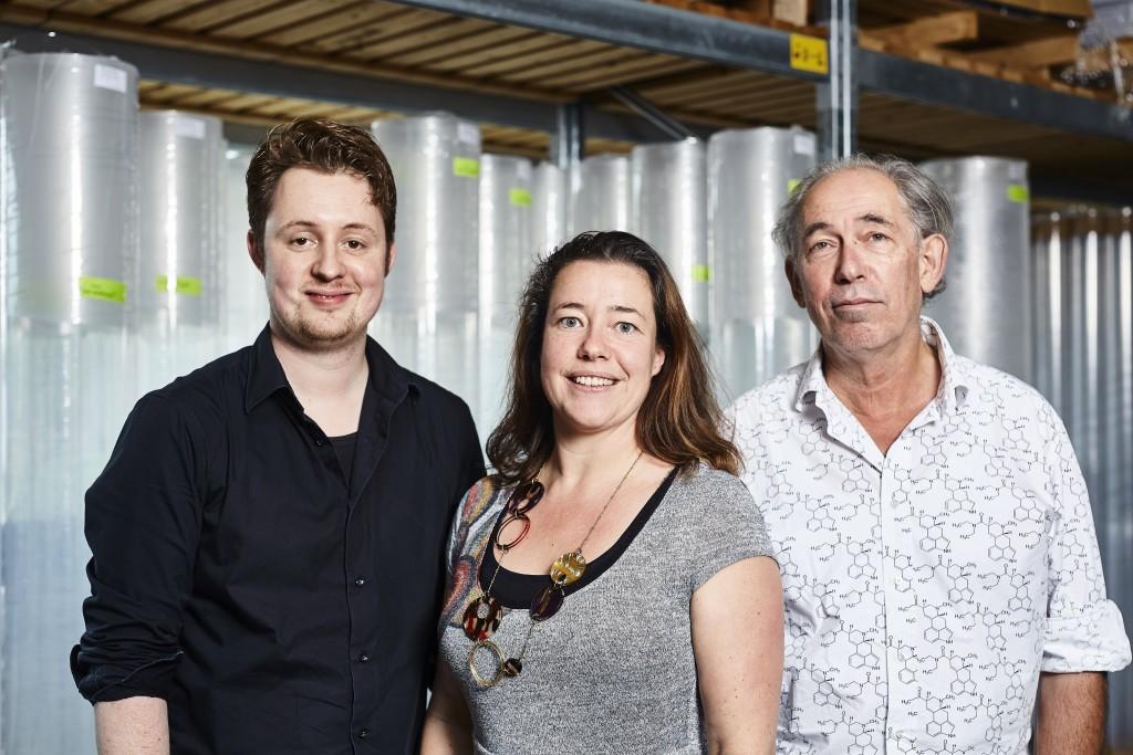 Sander de Boer, Marieke Pietersma en Sied Kooistra