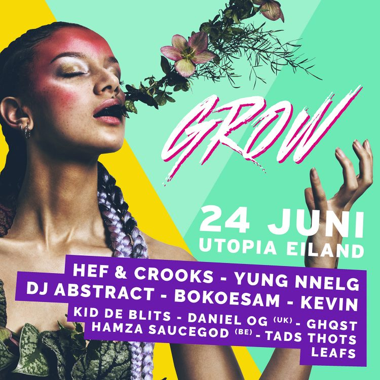 campagneposter GROW Festival