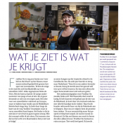artikel over Fruitbar Sis